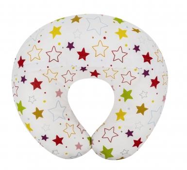 Circus Stars Donut Nursing Pillow