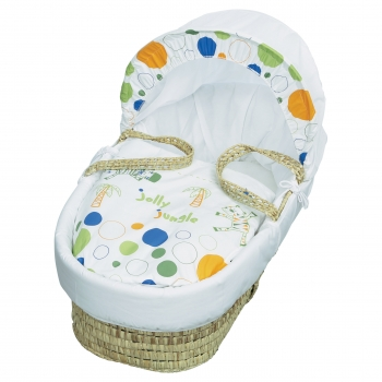 Jolly Jungle Moses Basket