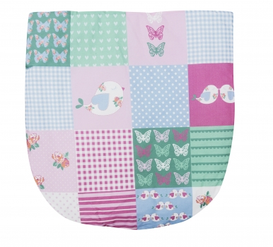 Patchwork Birds Moses Basket