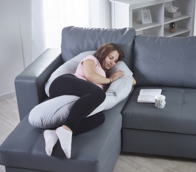 9ft Caterpillow Grey