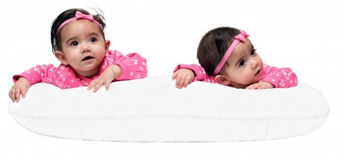 White Twin Nursing Pillow
