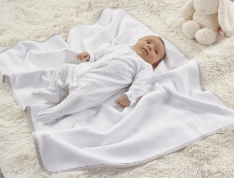 Fleece Blanket White