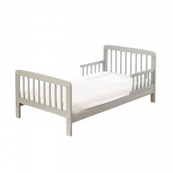 7 Piece Toddler Bed Grey with Pocket Sprung Mattress - Safari Friends Bedding