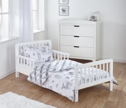 7 Piece Toddler Bed Bundle - Woodland Tales
