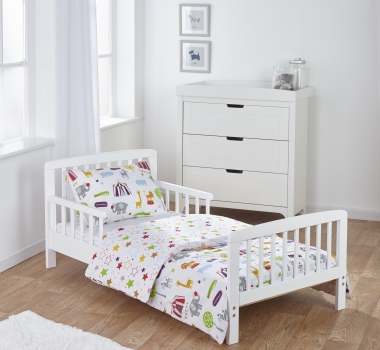 7 Piece Toddler Bed Bundle - Circus Friends
