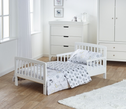 7 Piece Toddler Bed Bundle - Safari Friends