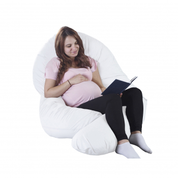 12ft Maternity Pillow White