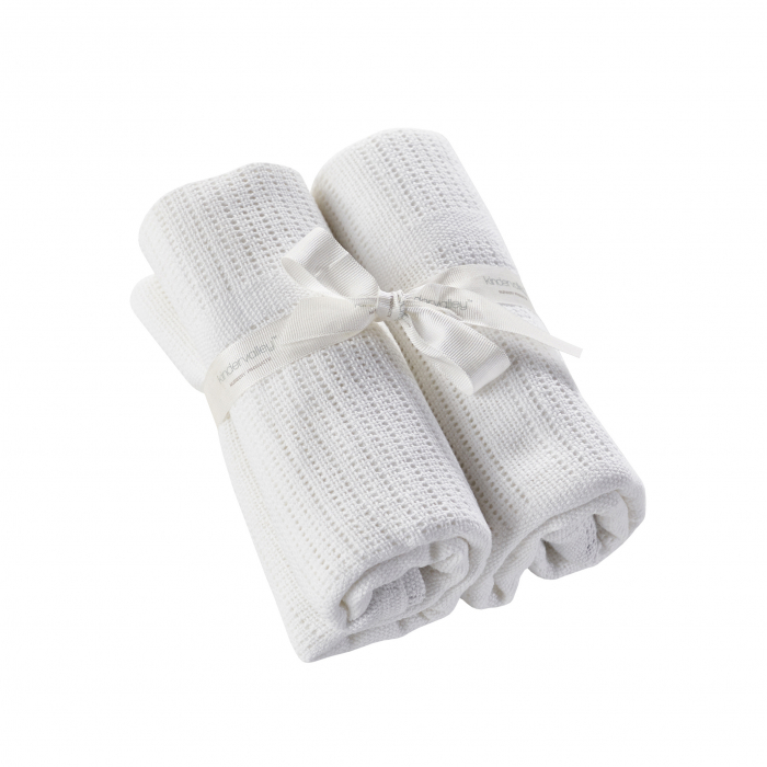 Cellular Shawl White 2 Pack