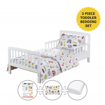 Circus Friends Toddler Bedding Set