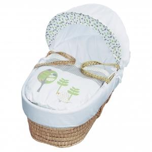 Three Little Birds Moses Basket Bedding Set