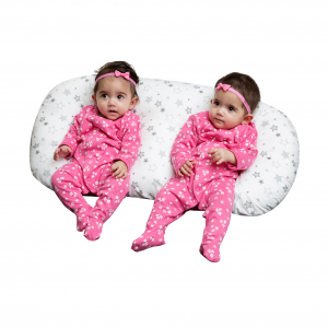 Twin Nursing Pillow Stars