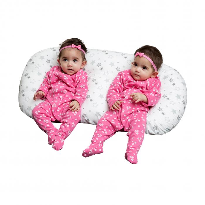 Silver Star Twin Nursing Pillow