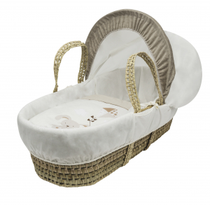 With Love Moses Basket