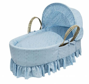 Broderie Anglaise Blue