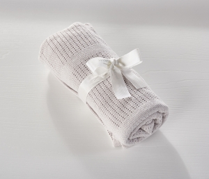 Cellular Blanket Grey