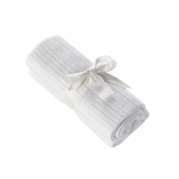 Cellular Blanket White