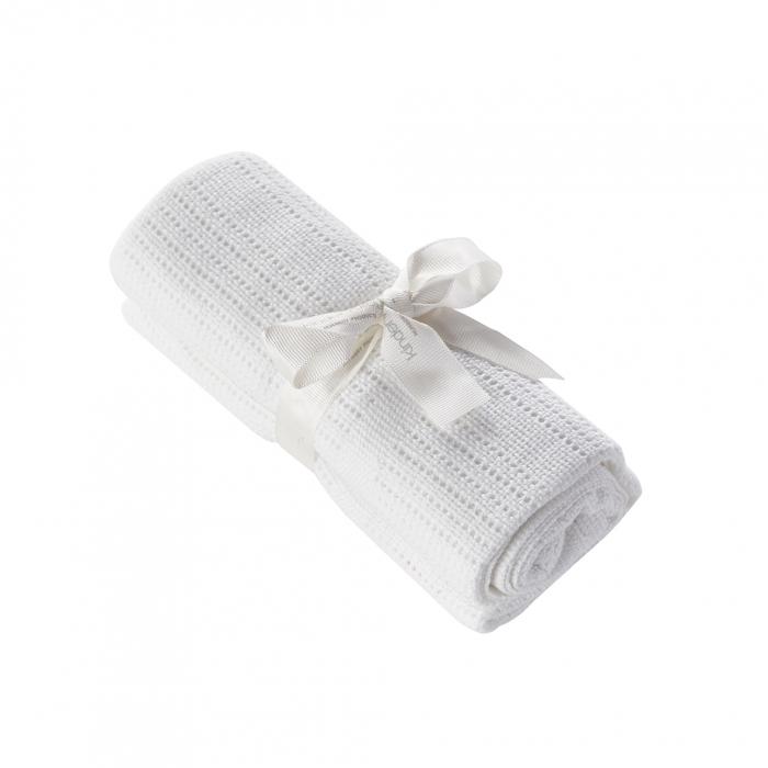 Cellular Shawl White