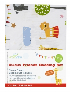 Circus Friends Toddler Bedding Set