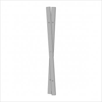 Opal Folding Stand Leg Grey