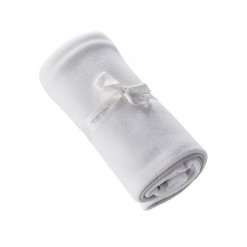 Fleece Blanket White