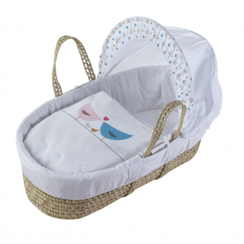 Love Birds Moses Basket