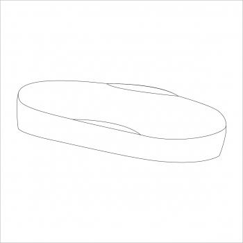 Moses Basket Padded Liner