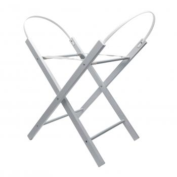 Opal Moses Basket Folding Stand Grey