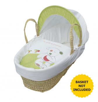 Quite as a Mouse Moses Basket Bedding Set