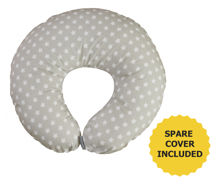 Stars Donut Nursing Pillow with Spare Cover