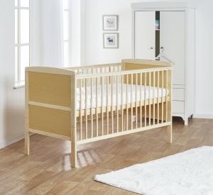 Sydney Cot Bed Natural