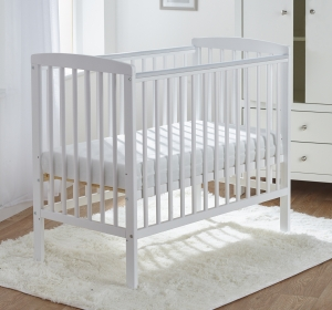 Sydney Compact Cot White