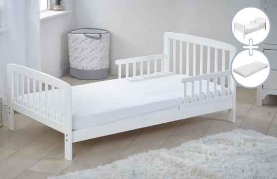 Sydney Toddler Bed with Kinder Flow Mattress